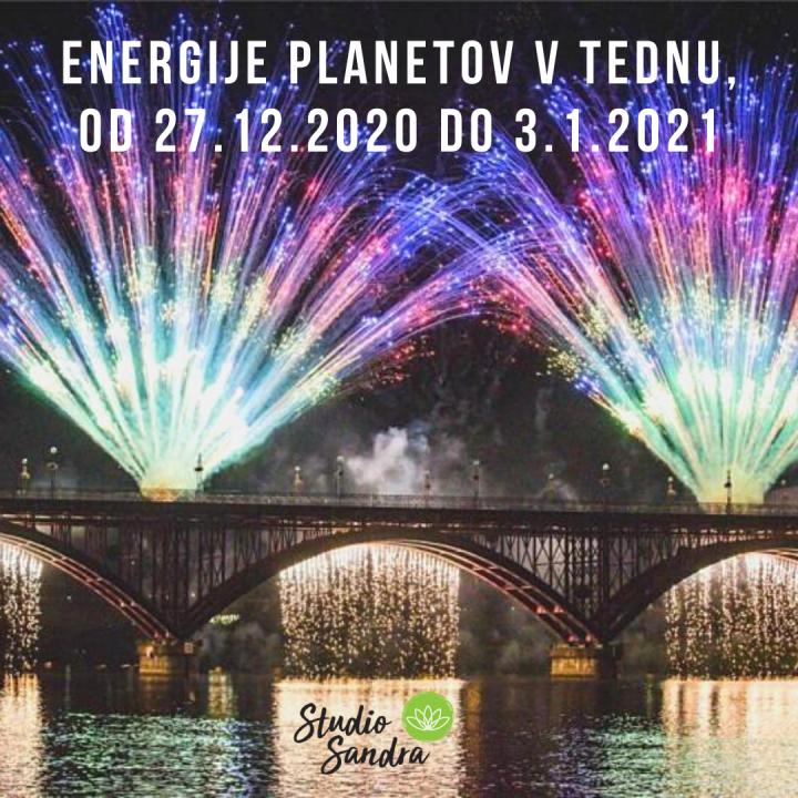 ENERGIJE PLANETOV V TEDNU OD 27.11.2020 DO 3.1.2021