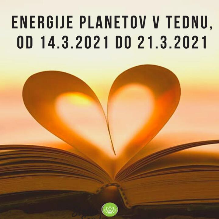 ENERGIJE PLANETOV V TEDNU OD 14.3. DO 21.3.2021