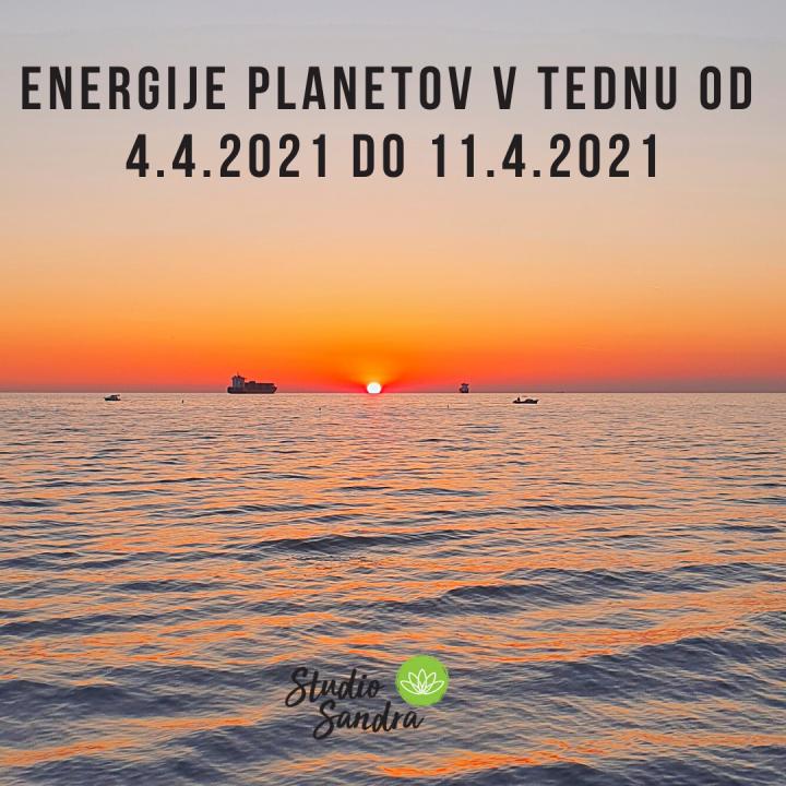 ENERGIJE PLANETOV V TEDNU OD 4.4. DO 11.4 2021