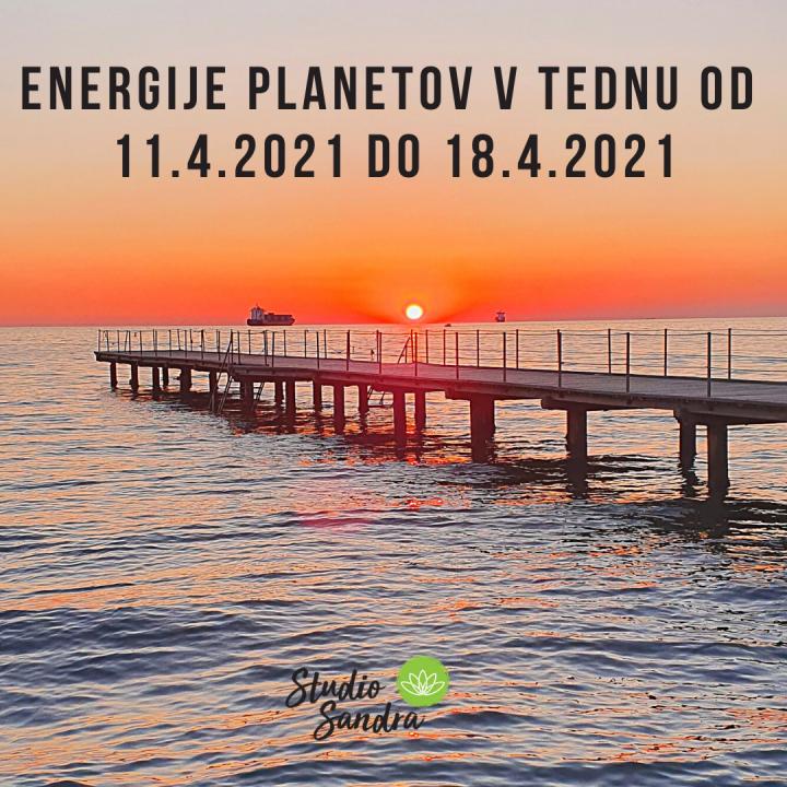 ENERGIJE PLANETOV V TEDNU OD 11.4 DO 18.4.2021