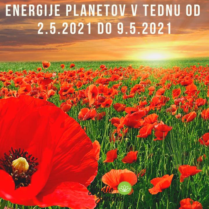 ENERGIJE PLANETOV V TEDNU OD 2.5. DO 9.5.2020
