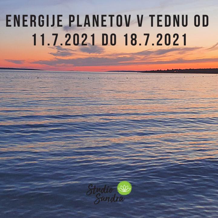 ENERGIJE PLANETOV V TEDNU OD 11.7 DO 18.7.2021
